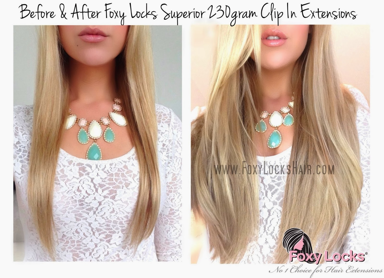 Foxy Locks Clip In Hair Extensions Uk 16