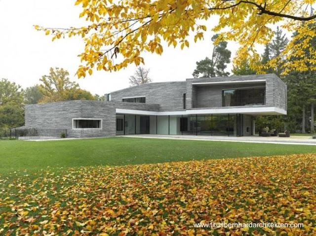 Residencia moderna contemporánea en Alemania