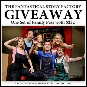 The Fantastical Story Factory Giveaway
