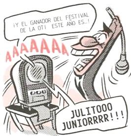 hey, me encanta el festival de la OTI