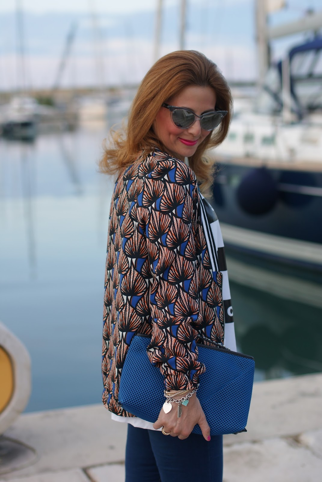 Pimkie ethnic print jacket on Fashion and Cookies fashion blog, fashion blogger style