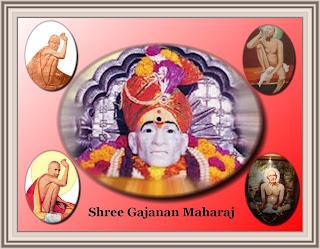 Shree Gajanan Maharaj - Shegaon by Ramakant Agrawal