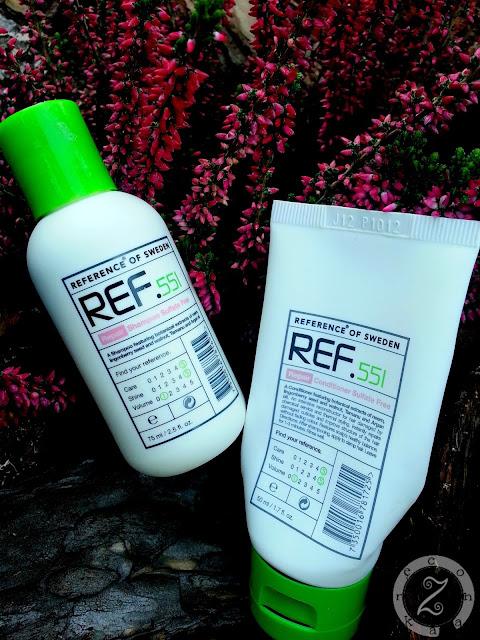 REF, szampon i odżywka 551