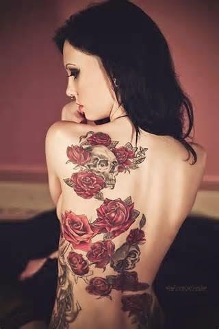 Haut du dos tatouage Sexy