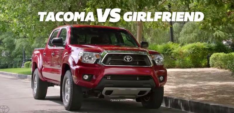 【動画】大袈裟すぎるトヨタのピックアップトラック「タコマ」のCM