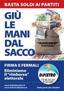 IDV Grugliasco raccoglie le firme