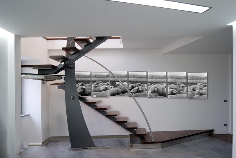 Scale in ferro by vanzo ferro battuto e figlio snc for Interni e design
