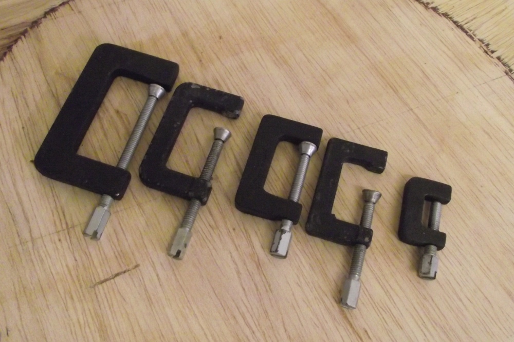 A luthier s you can never have too many clamps