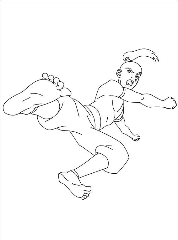 Cartoons coloring pages avatar coloring pages for Avatar coloring pages