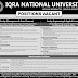 Jobs in Iqra National University Peshawar 2015 Positions Vacant