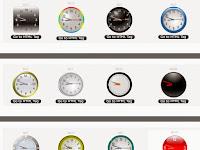 Kumpulan Kode HTML Widget Jam Analog Keren Untuk Blog