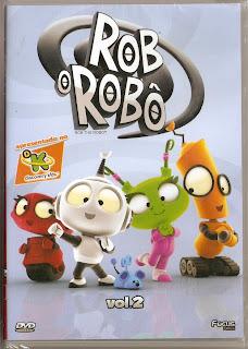 Rob o Robô  Vol. 2  DVDRip AVI Dublado + RMVB Dublado