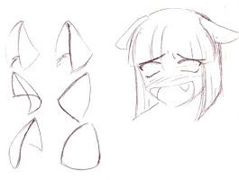 Anime Girl With Cat Ears Drawings