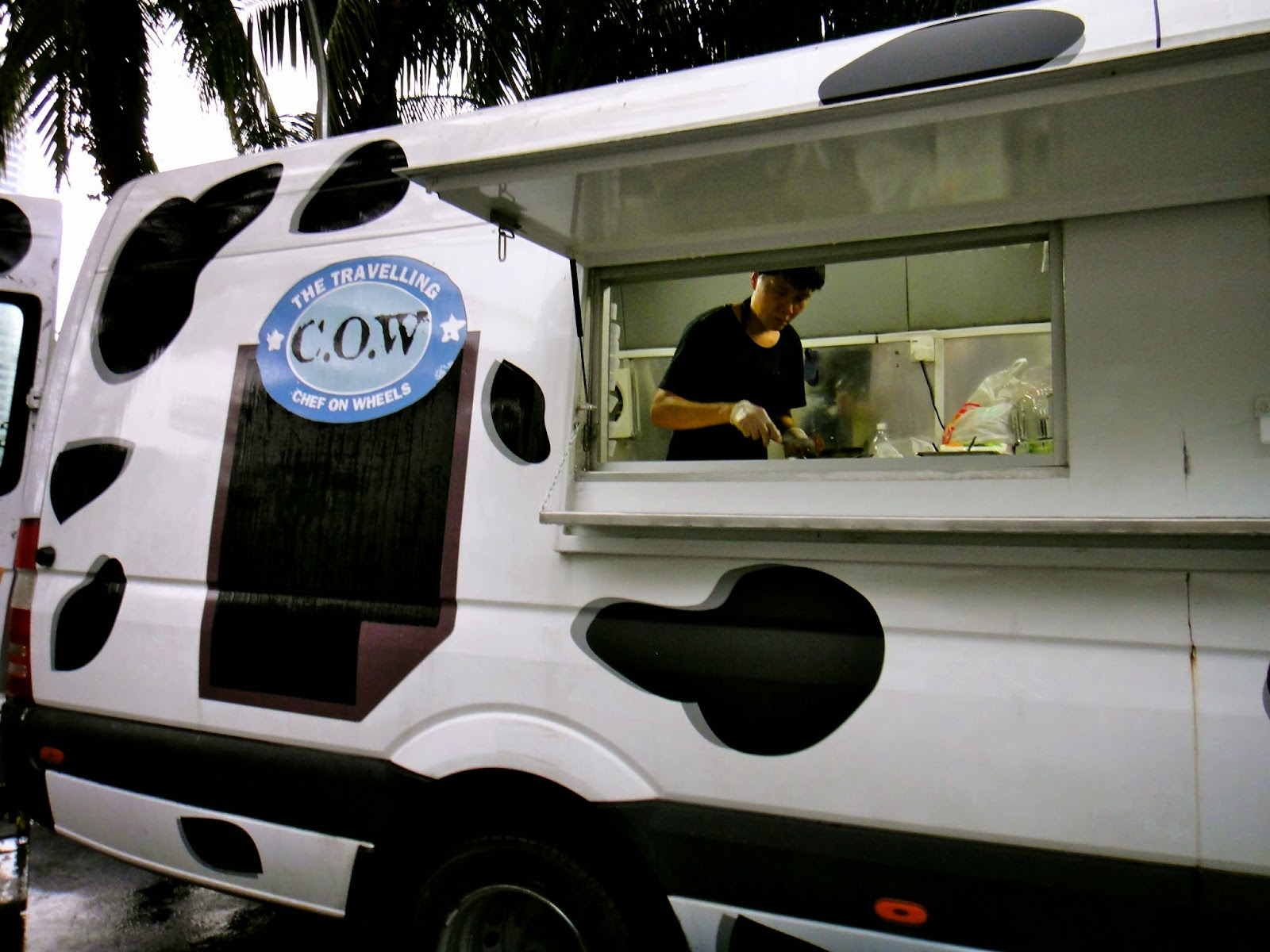 The Travelling COW Food Truck Singapore