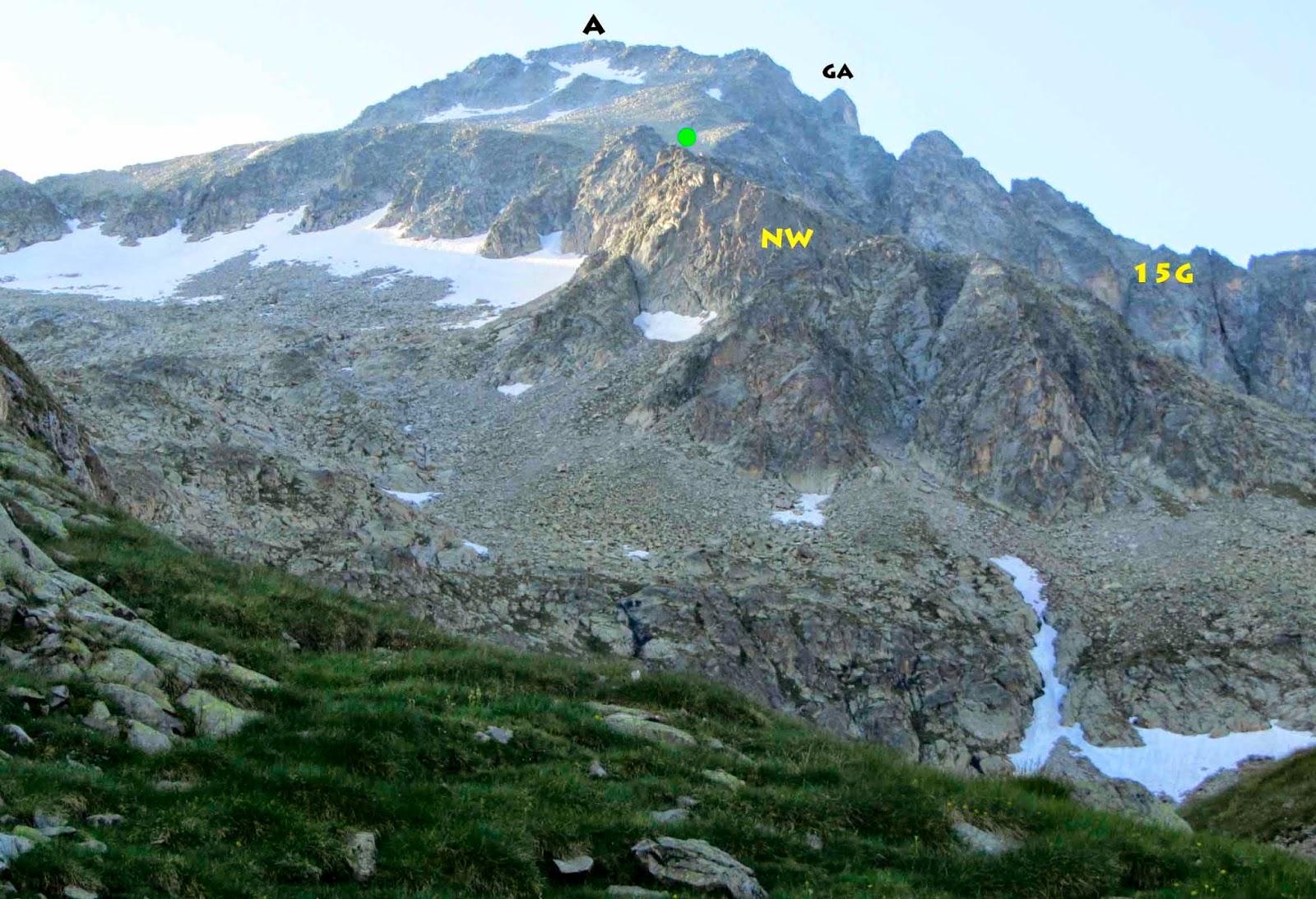 Elrefugioalpino pico de alba 3118 m desde los ba os de - Banos de benasque ...