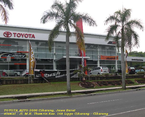 Dealer dan Bengkel Harga TOYOTA Auto2000 LIPPO CIKARANG, JAWA BARAT