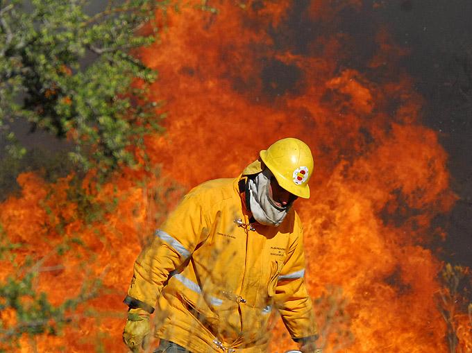 formación de las cuadrillas de lucha contra los incendios