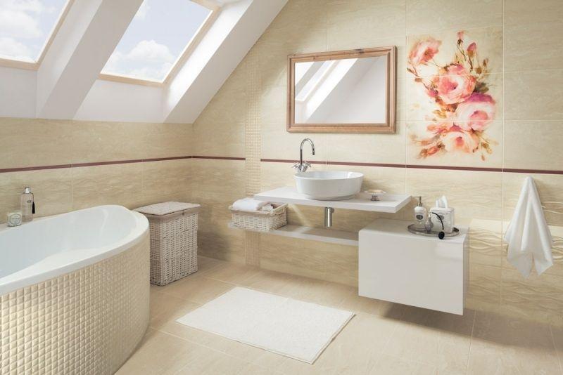 Azulejos Baño En Beige:color de tendencia en el diseño y decoración de baños es el beige