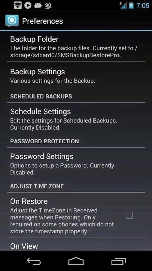 SMS Backup & Restore Pro v7.14