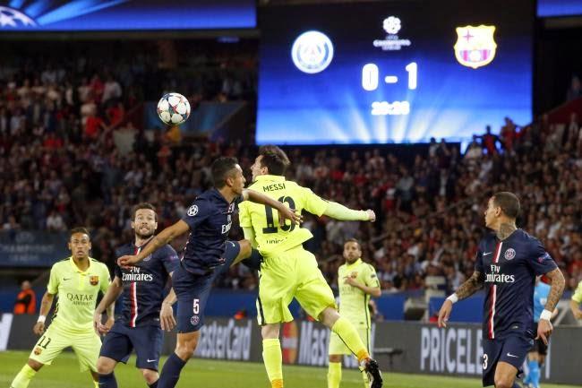 Barcelona vs. PSG Leg 2 UCL 2015
