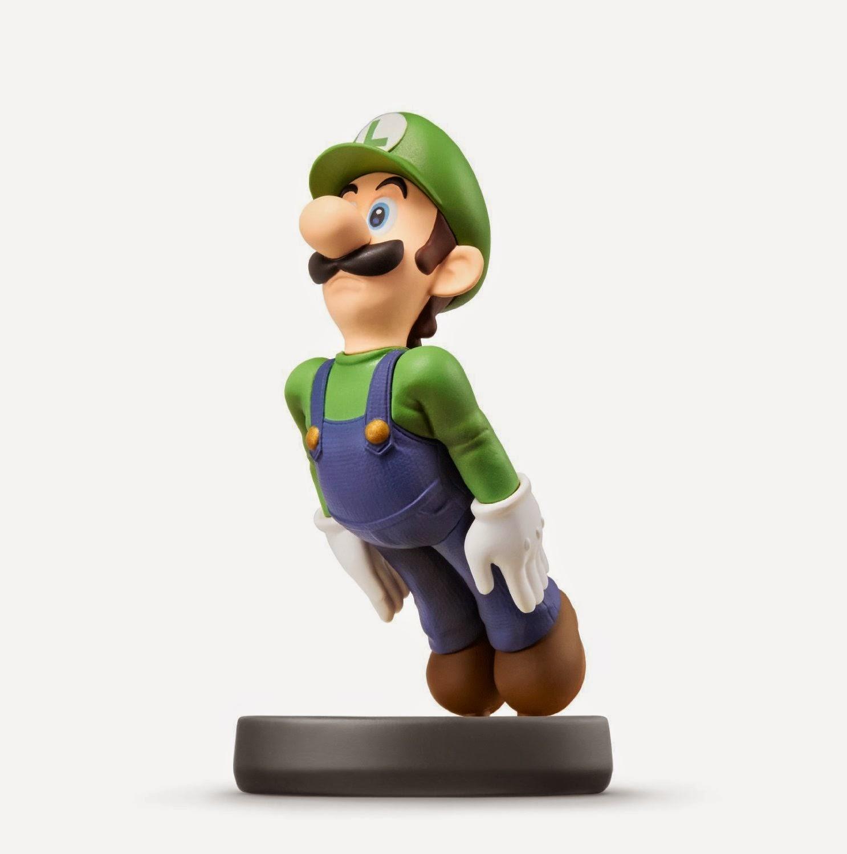 JUGUETES - NINTENDO Amiibo - 15 : Figura Luigi   (19 diciembre 2014) | Videojuegos | Muñeco | Super Smash Bros Collection  Plataforma: Wii U
