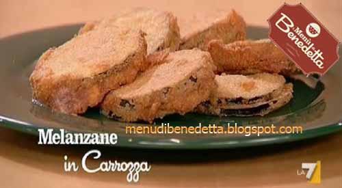 Melanzane in carrozza ricetta di benedetta parodi i for Mozzarella in carrozza parodi