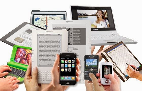 a variety of mobile devices