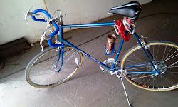 Bike after metal polishing