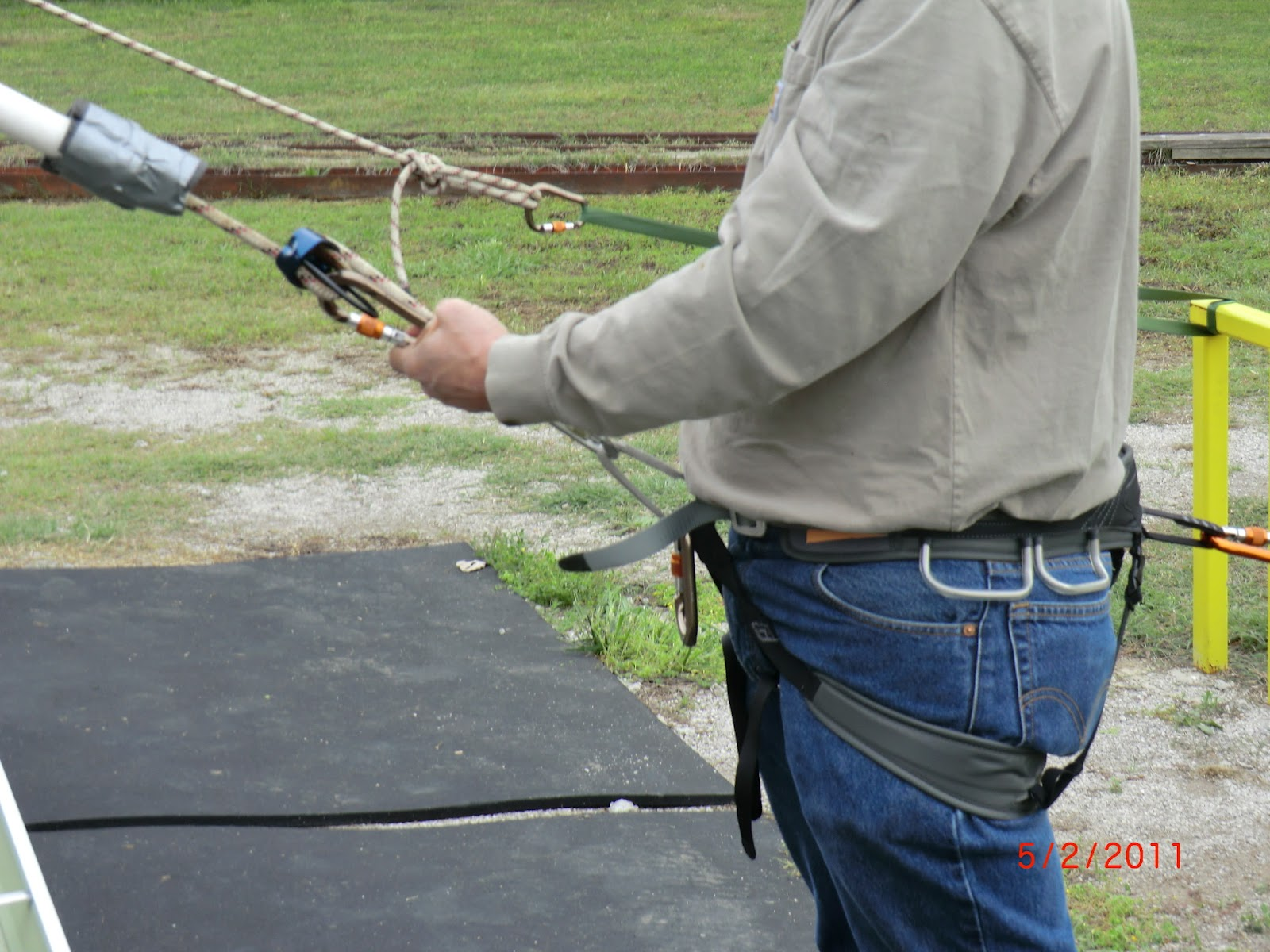 Harness Manufacturers Instructions On Properly Fastened Buckles