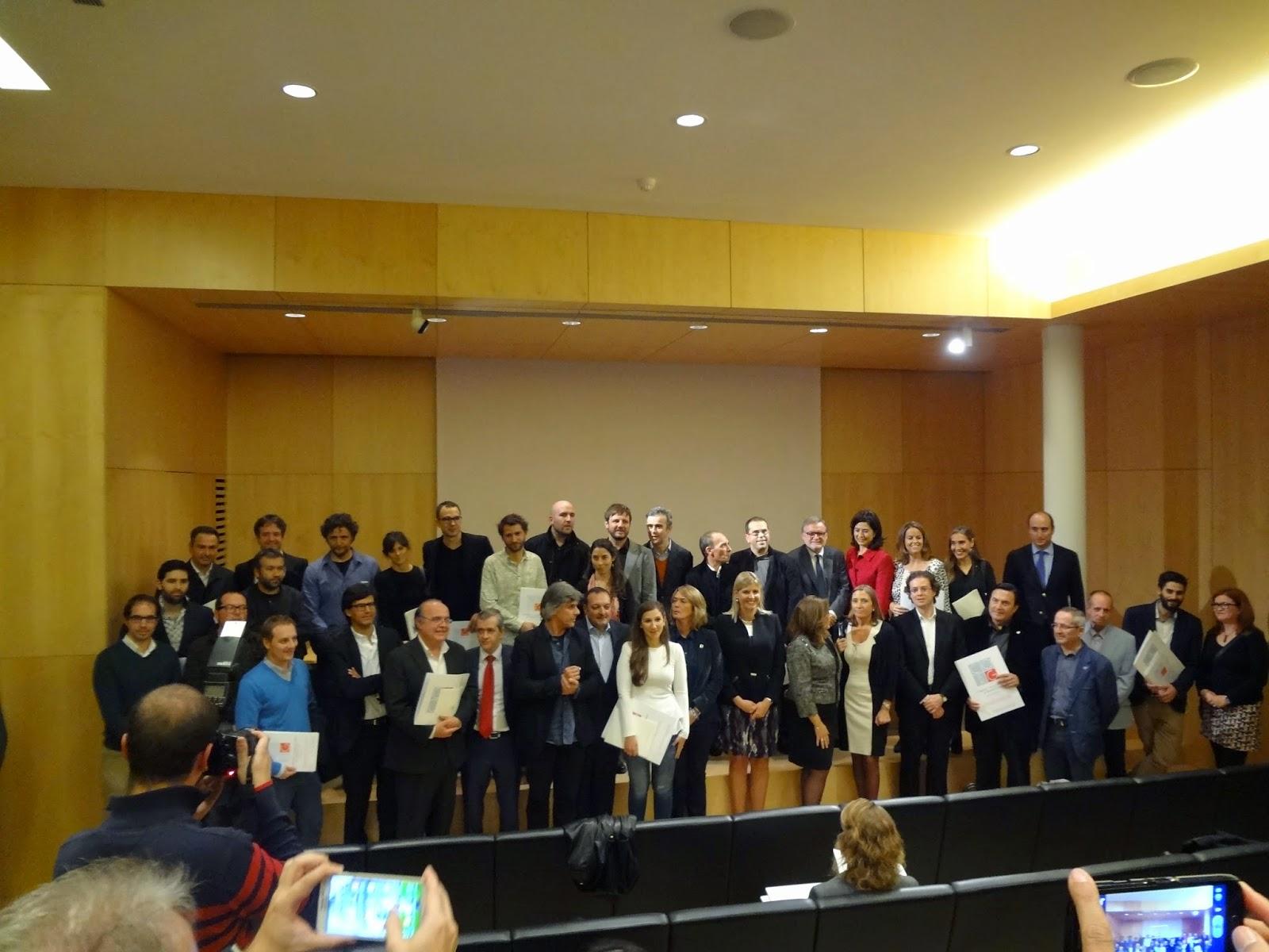 Gij n arquitectura blog acto de entrega de premios - Colegio arquitectos granada ...