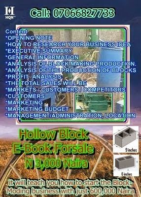 Hollow Block Business Plan