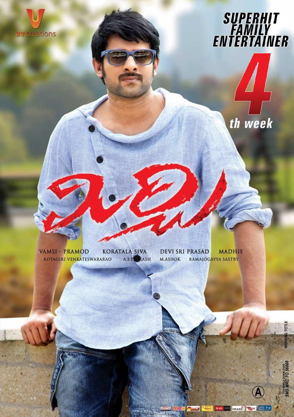 mirchi 4th week wallpapers