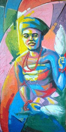 best african art collection by nigerian reknown visual artist ayeola ayodeji abiodun