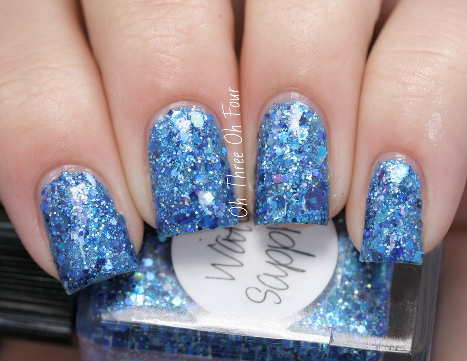 Lynnderella Water Sapphire swatch