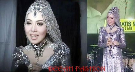 Royal Dress Syahrini Trend Baju Muslim 2013