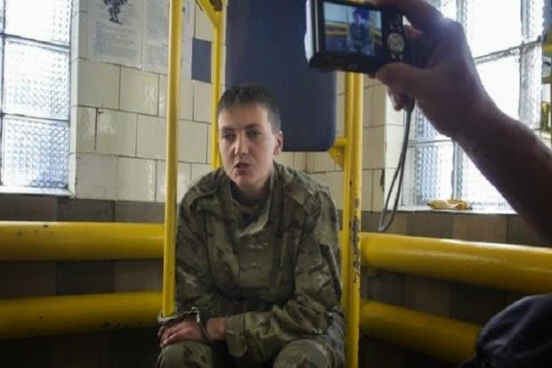 Rusia Tangkap Pilot Wanita Kiev, Ukraina