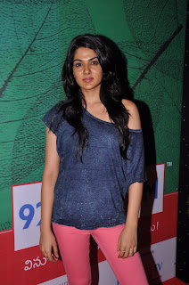 Actress Sakhi Chowdary Pictures in Tight Jeans at Green Ganesh 0009