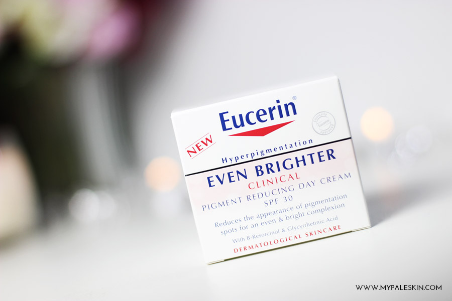 Eucerin, skin care, day cream, Eucerin even brighter, clinical, hyper pigmentation