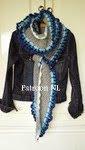 Patroon lange sjaal
