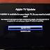 Apple TV update terug