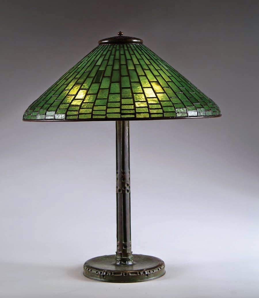 Authentic tiffany lamp expert its value is that of a reproduction and it is not something i would ever suggest anyone buy in hopes it will someday perhaps in 75 100 years be more geotapseo Choice Image
