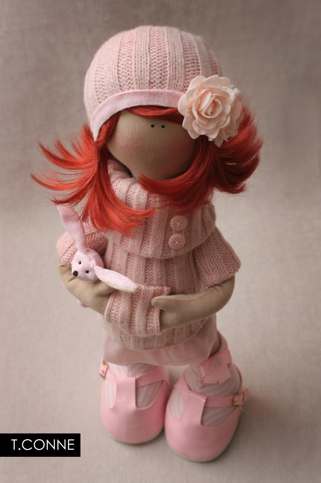 выкройки Татьяны Коннэ .  Кукла-лежалка.  В ... Одежда для кукол.