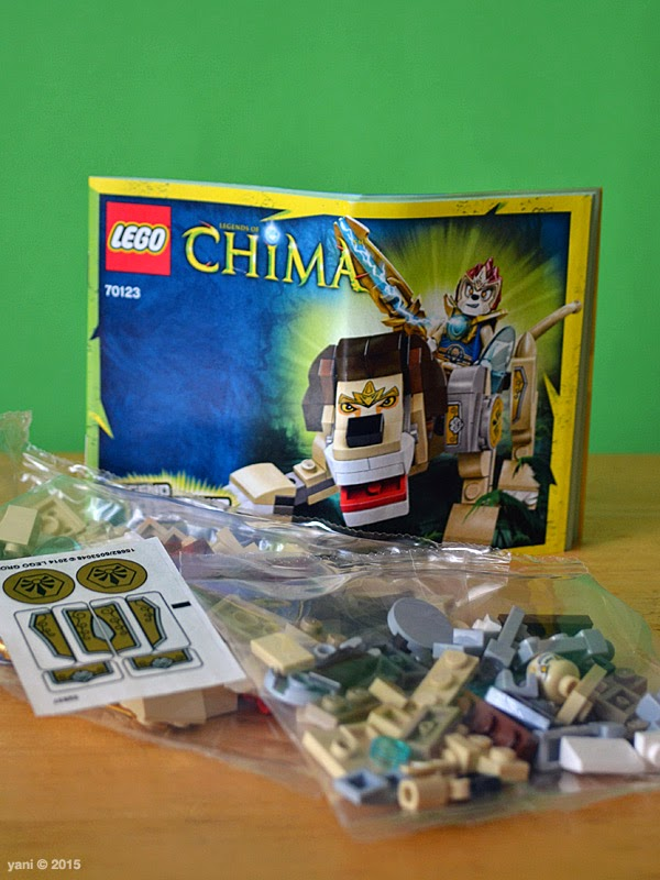 lego chima legend beast lion - the usual suspects
