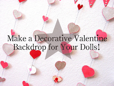 Decorative Valentine Backdrop