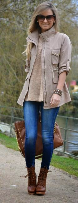 Casual Street Style Outfits 2014 – 2015 Fashion
