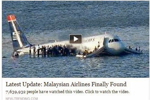 Malaysian Airline MH370 Found, Malaysian Airline MH370 Found in the Bermuda Triangle, Video of Malaysian Airline MH370 Found