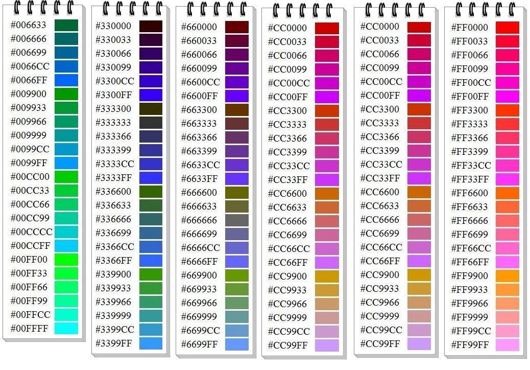 Colores Hexadecimales 28 Images Colores Hexadecimales