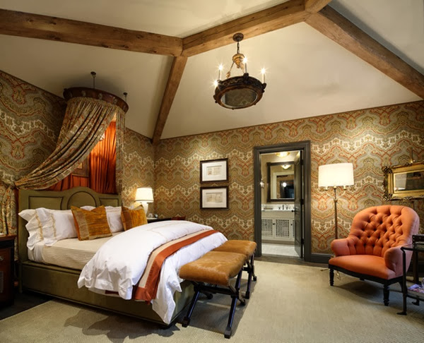 chambre style romantique classique  idées déco pour maison moderne