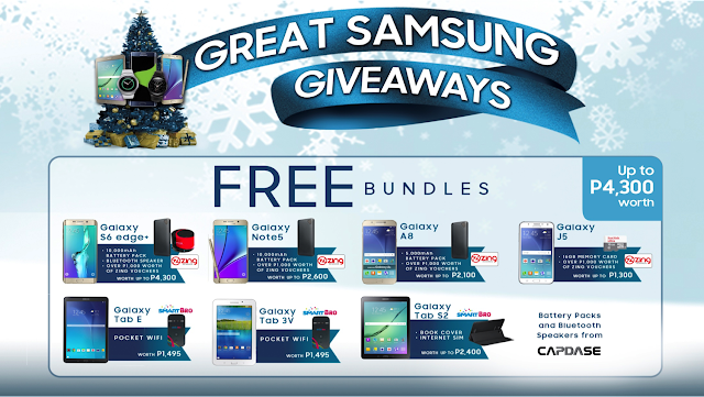 Great Samsung Giveaways 2015