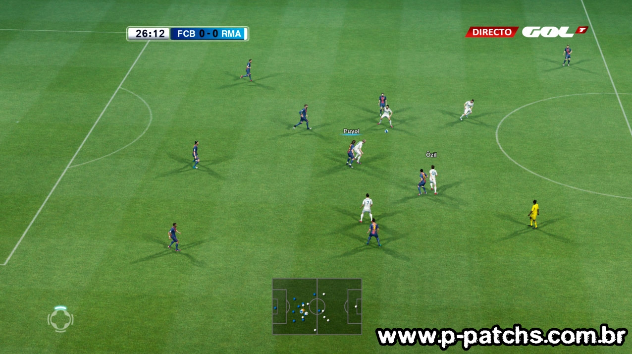 Scoreboard Liga BBVA 1.0 Beta - PES 2013
